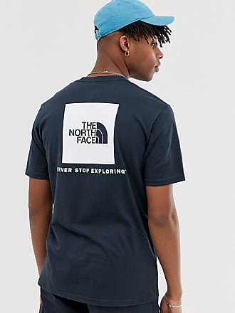 The North Face Red Box t-shirt in navy - Navy
