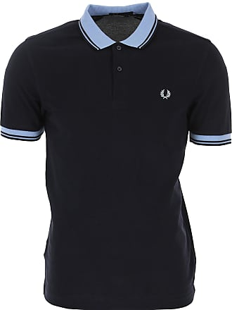88659cc0 Fred Perry Polo Shirt for Men On Sale, Dark Blue Navy, Cotton, 2017
