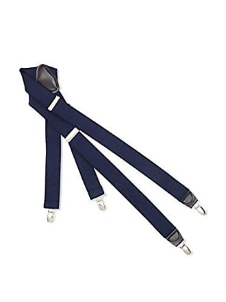 Dockers Mens Solid Suspender, Navy, One Size