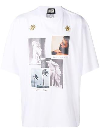 FAUSTO PUGLISI Camiseta com estampa - Branco