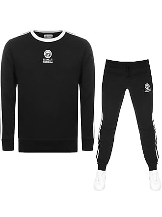 911c6cd13f5cc Franklin   Marshall Mens Tuta Round Neck Tracksuit in Black Medium