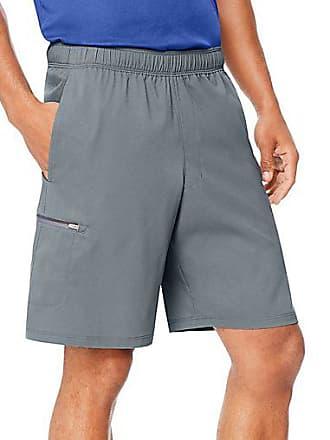 Hanes Sport Mens Hybrid Pocket Shorts Stormy Night XL