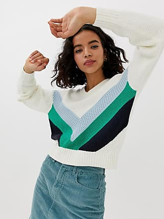 d529242930 Vero Moda chevron colourblock jumper