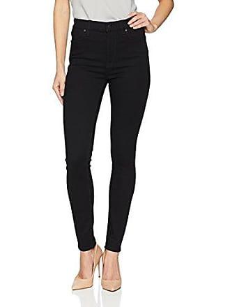fe94eaf80d6 Hudson Womens Barbara HIGH Waist Super Skinny 5 Pocket Jean, Black, 28
