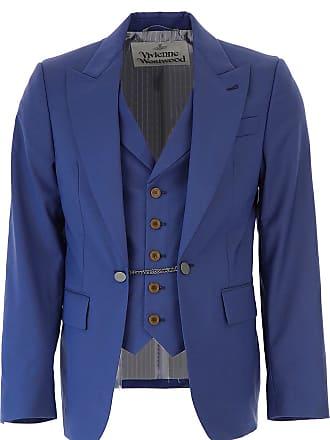 e0a432919ce Vivienne Westwood Blazer for Men, Sport Coat On Sale, Blue, Wool, 2017