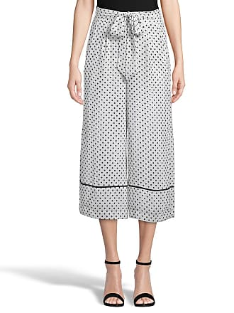 5twelve Polka-Dot Cropped Wide-Leg Pants