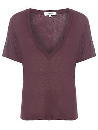 J. Chermann Camiseta Maxi Decote J. Chermann - Vinho