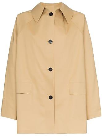 Kassl Editions Trench coat com abotoamento - Neutro