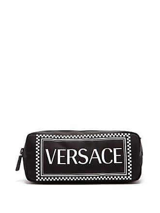 dfade6913d9c Versace Logo Print Nylon Belt Bag - Mens - Black
