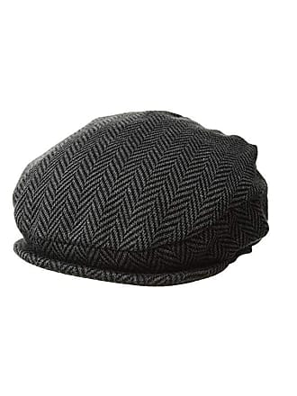 097e43d0 Polo Ralph Lauren Herringbone Driver Cap (Charcoal/Black Herringbone) Caps