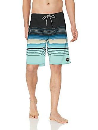O'Neill Mens 20 Inch Outseam Ultrasuede Swim Boardshort, Navy Sandbar, 33