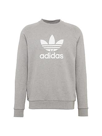 8f9c99785c3 adidas Sweatshirt Trefoil grijs gemêleerd / wit