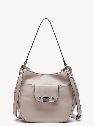 Sole Society Womens Kaii Hobo Bag Shoulder Faux Leather Stone From Sole Society