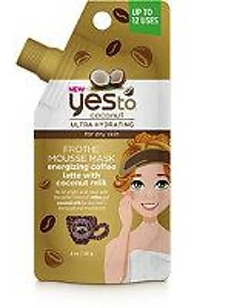 Yes To Coconut Frothe Mousse Mask Energizing Coffee Latte with Coconut Milk