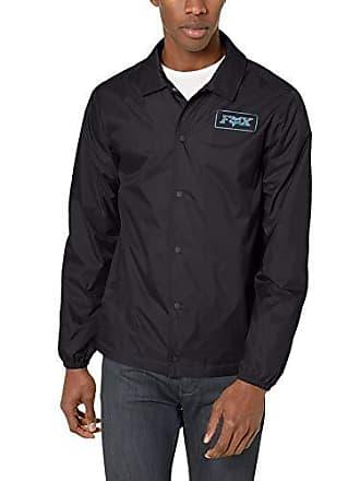 Fox Mens LAD Coaches Jacket, Black/Blue, M