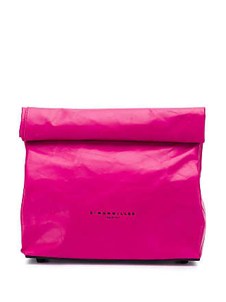 Simon Miller Clutch Lunch Bag pequena - Rosa