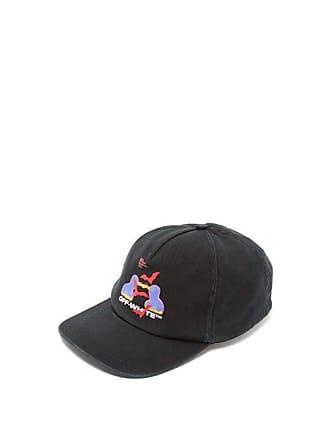 6947874dfece5d Off-white Off-white - Thermo Logo Print Cotton Baseball Cap - Mens -