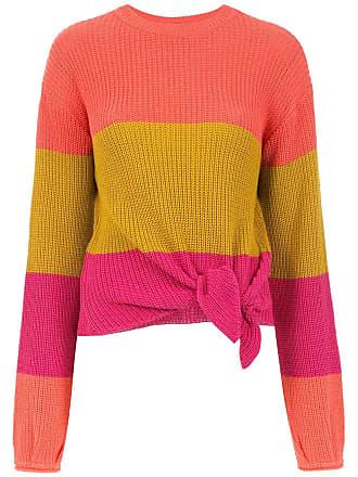 TIG Blusa de tricô listrada - Estampado
