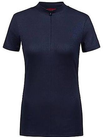 4af5262d820 HUGO BOSS T-shirt esprit maillot de cycliste à encolure zippée en jersey  côtelé79.