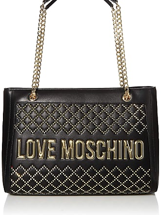 Love Moschino BORSA PU NERO Womens, Black, Normale