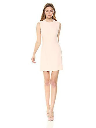 5868d9a20ae French Connection Womens Whisper Light Stretch Solid Mini Dress, Barley  Pink, 12