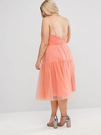 Knielange Kleider in Orange: Shoppe jetzt bis zu −81%   Stylight