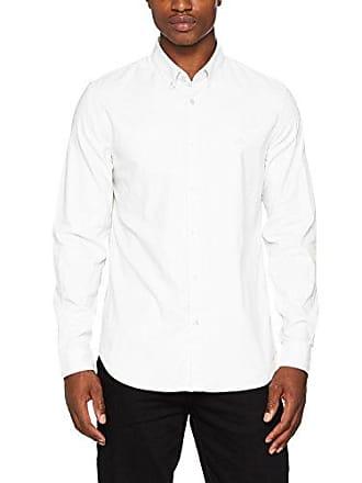 cb757ff358ba5 Lacoste CH9627, Chemises Business Homme, Blanc (Blanc Blanc), 46 (