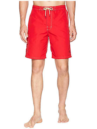 Polo Ralph Lauren Kailua Swim Trunks (Ralph Lauren 2000 Red) Mens Swimwear
