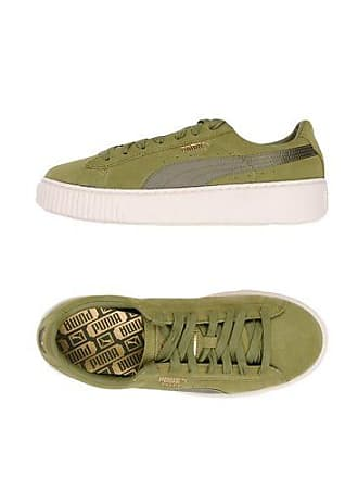 new styles 2ad8b 4d256 Puma SUEDE PLATFORM SATIN - CHAUSSURES - Sneakers   Tennis basses