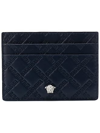 Versace business card holders sale at usd 8300 stylight versace medusa cardholder blue colourmoves