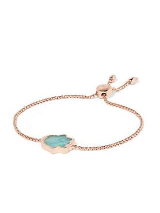 f3565ae60c8e50 Monica Vinader Atlantis Rose Gold Vermeil Amazonite Bracelet - one size