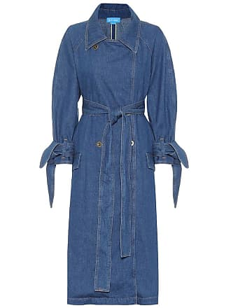 Mih Jeans Audie denim trench coat