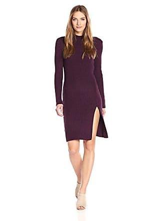 Bcbgmaxazria BCBGMax Azria Womens Gwynn Dress, Marled Bordeaux Combo, S