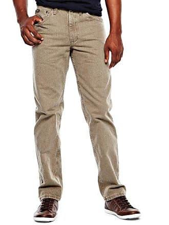 Lee Mens Regular Fit Straight Leg Jean, Tarmac, 33W x 29L