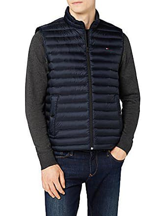 Tommy Hilfiger Core LW Packable Down Vest, Manches Homme, Bleu (Sky Captain  403 62c4e9fb830