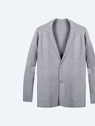 Ministry of Supply 3D Print-Knit Blazer - Light Grey size XXS