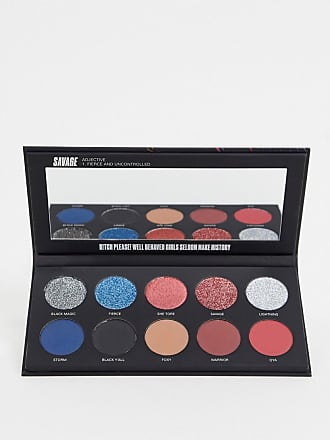 Uoma Beauty Beauty Black Magic Colour Eyeshadow Palette - Savage-Multi