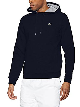 f83ae1b9db6 Lacoste Sport - Sweat-shirt à Capuche Homme - Multicolore (Marine Argent  Chine