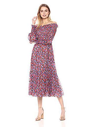 df33cc3c6802 Rebecca Taylor Womens Off-Shoulder Cosmic Floral Dress