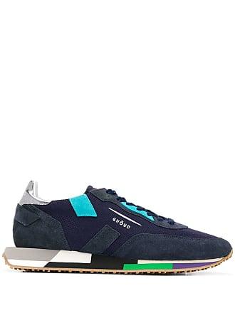 Ghoud panelled sneakers - Azul