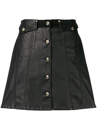 Versace Jeans Couture Saia cintura alta - Preto