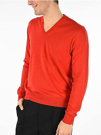 Maison Margiela MM14 Sweater with Leather Details size Xl