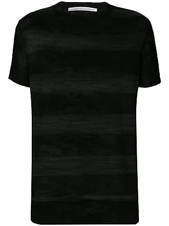10sei0otto Suéter de tricô bicolor - Preto