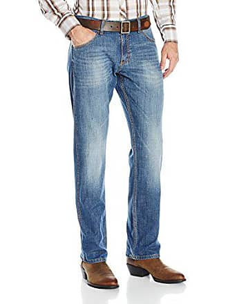 Wrangler Mens Retro Slim Fit Straight Leg Jean, Cottonwood, 35x34