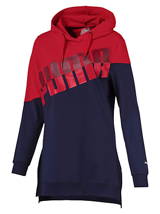 944f233ad6a Puma A.C.E. Blocked Womens Hoodie Ribbon Red-Peacoat M