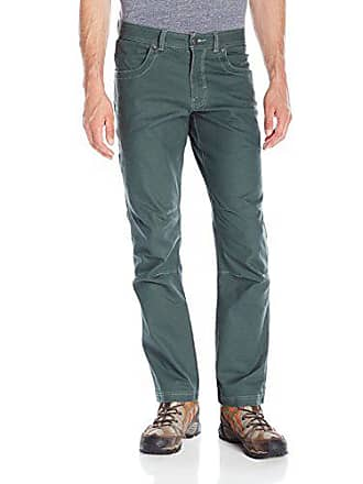 350dadb8 Columbia Mens Casey Ridge Five-Pocket Stretch Pant, Deep Green 42x32