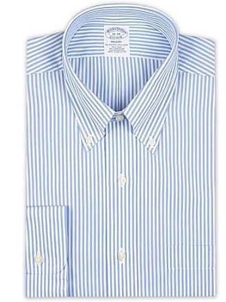 942a5e622701 Brooks Brothers Regent Fit Non Iron Bengal Shirt Light Blue