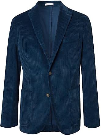 Boglioli Navy Cotton-corduroy Suit Jacket - Blue