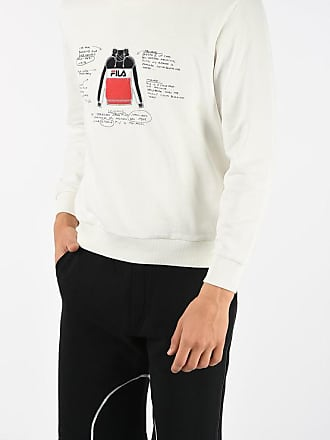 Fila WHITE LINE Sweatshirt with Embroidery size Xl