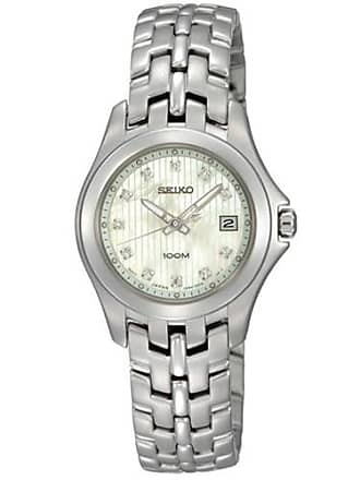 Seiko Diamonds Bracelet Mother-of-pearl Dial Womens watch SXDC11